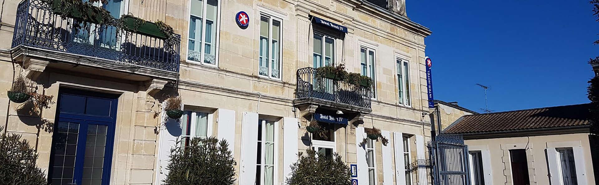 The Originals Boutique, Hôtel Henri IV, Libourne Nord (Inter-Hotel) - Edit_Front2.jpg