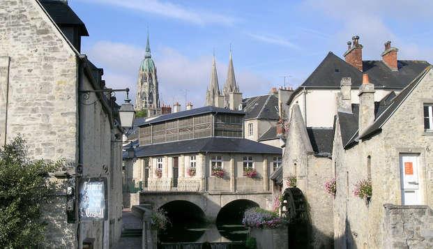 Séjour en chambre twin au cœur de Bayeux