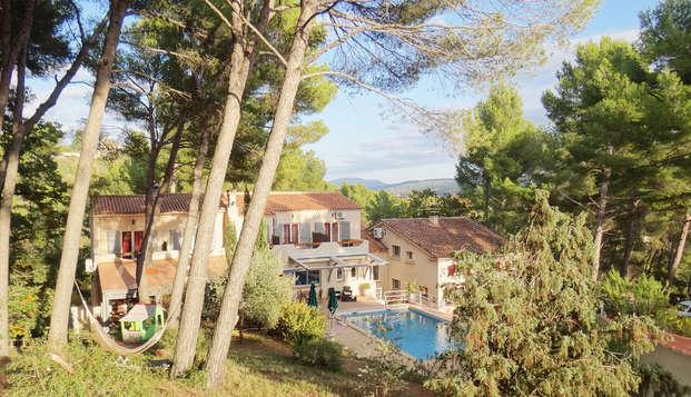 Escapade dans un mas provençal près d'Aix-en-Provence