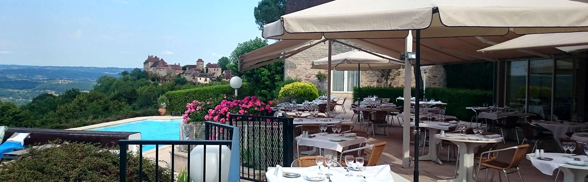 Week-end gastronomique avec dîner près de Rocamadour
