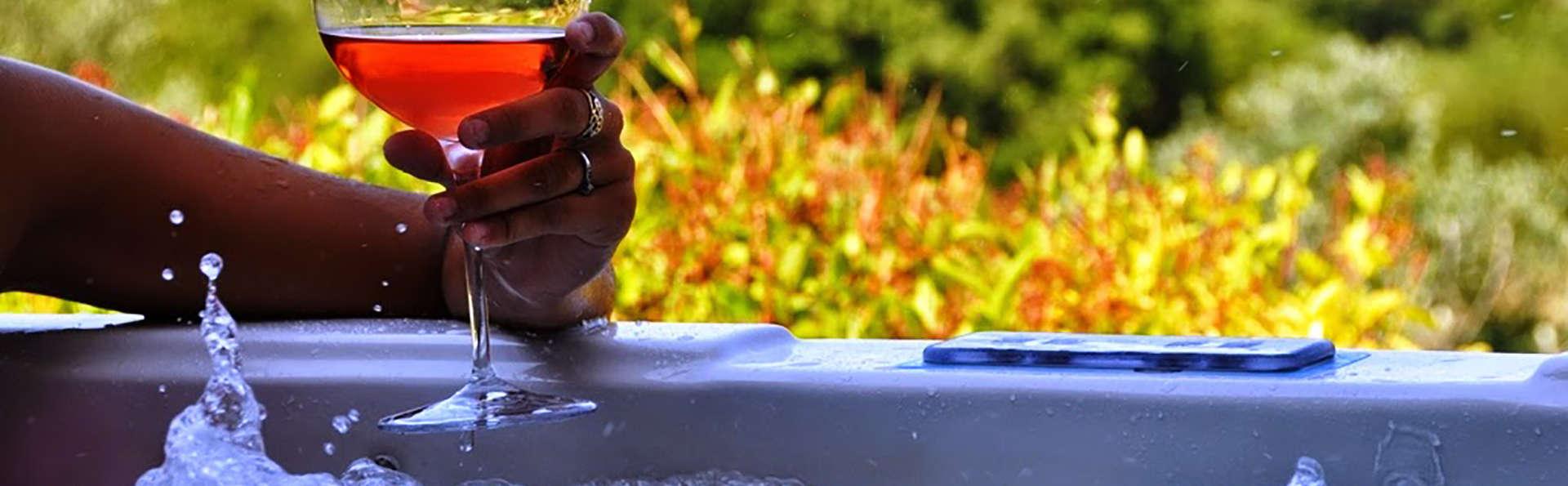 Week end romantique avec bain à remous privatif en Provence
