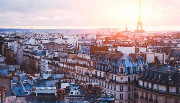 Estancia en el distrito 9 parisino