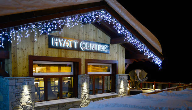 Hyatt Centric La Rosiere - new front winter