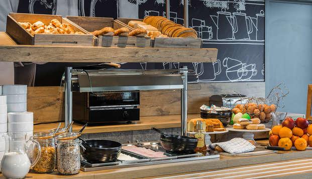 Ibis Budget Brugge Jabbeke - Breakfast