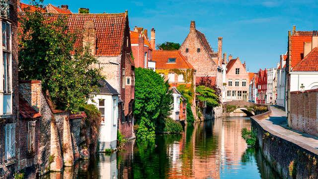 Brise maritime et visite du musée du chocolat à Bruges