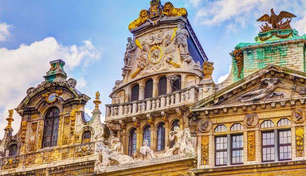 ¡Sigue el olor del auténtico chocolate belga y descubre Bruselas! (desde 2 noches)