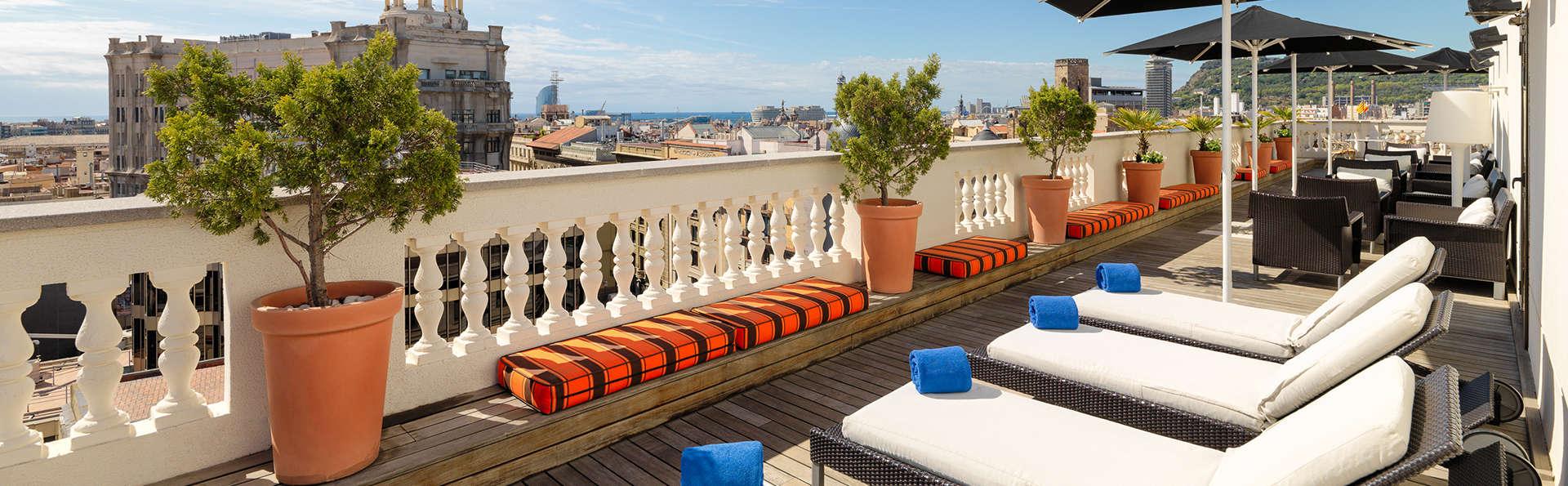 Escapada Mini-vacaciones en pleno corazón de Barcelona (desde 3 noches)