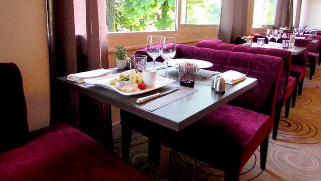 Week-end en famille avec dîner à 5min du lac du Bourget (petit-déjeuner enfant offert)
