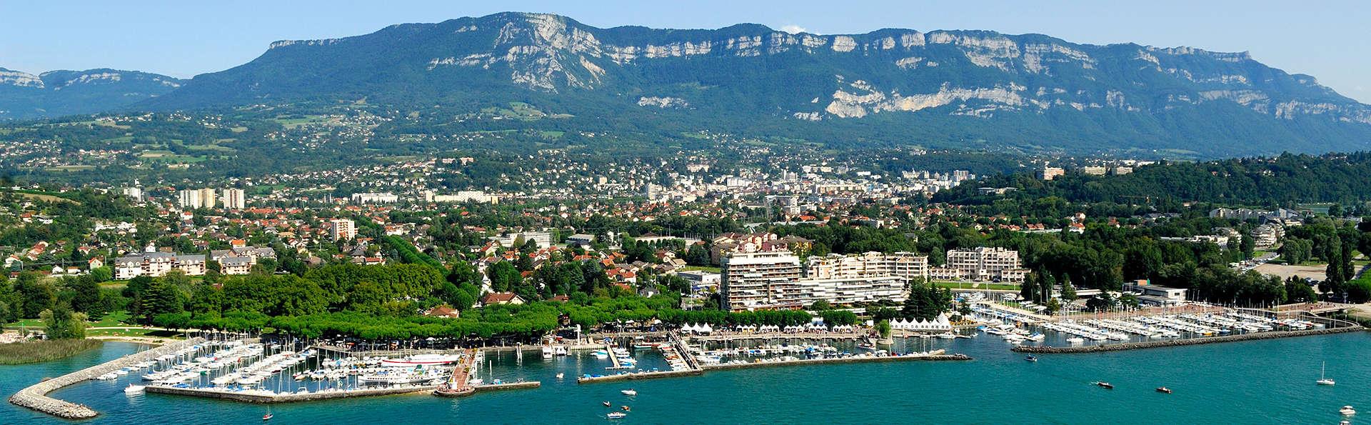 Week-end à 5min du lac du Bourget, à Aix les bains