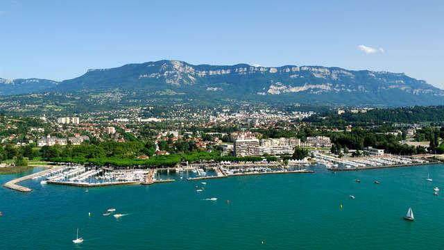A pochi passi dal Lago di Bourget presso Aix-Les-Bains