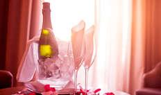 Demi-bouteille de champagne