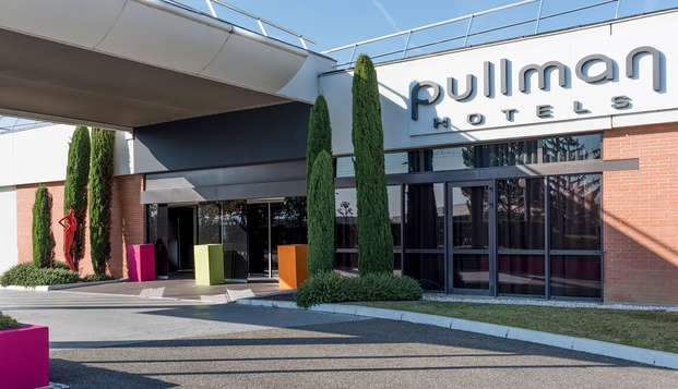 Pullman Toulouse Airport - front