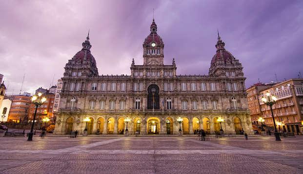 Escapada Romántica con Cena en A Coruña