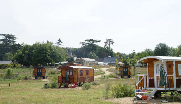 Escapada en caravana cerca de Angers