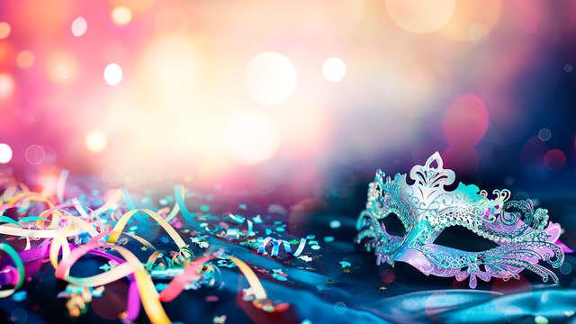 Especial Carnaval: ¡Disfruta de una animada Cena y fiesta de disfraces con baile y DJ!