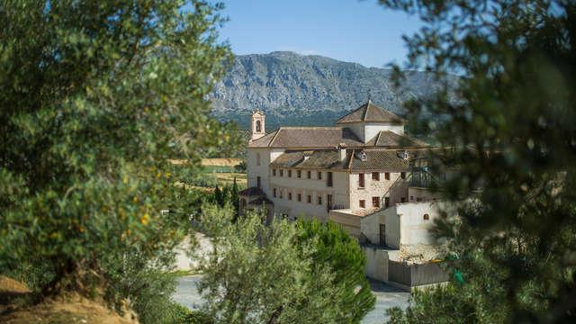 Escapada Relax en Antequera en un edificio histórico lujoso rodeado de naturaleza