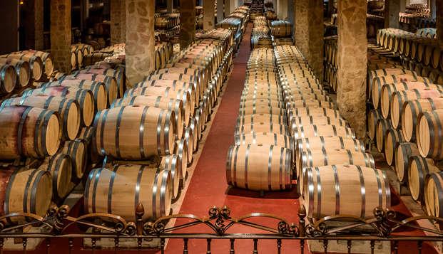 Escapada enológica con visita a una bodega y degustación de vino en el Penedès