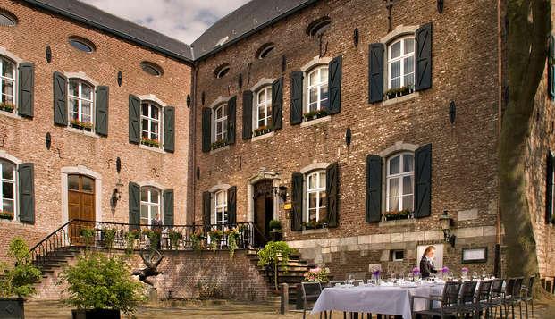 Gastronomie et cyclisme lors d'un séjour dans un château de Kerkrade (à partir de 2 nuits)