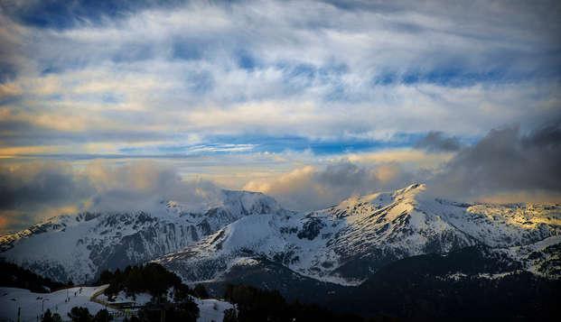 Escápate a un estudio en la hermosa localidad de La Clusaz, en los Alpes franceses (7 noches)