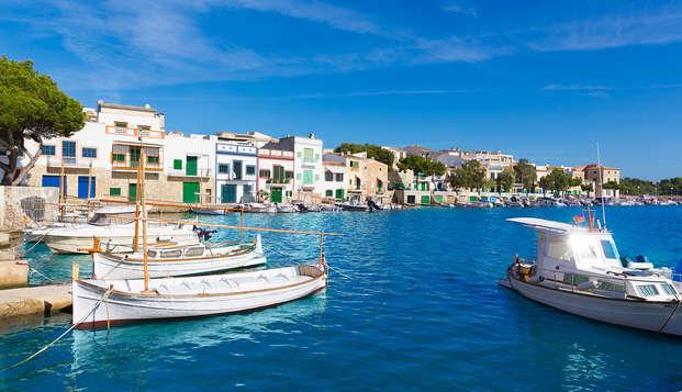 Vacances à Portocolom en demi-pension (à partir de 4 nuits)