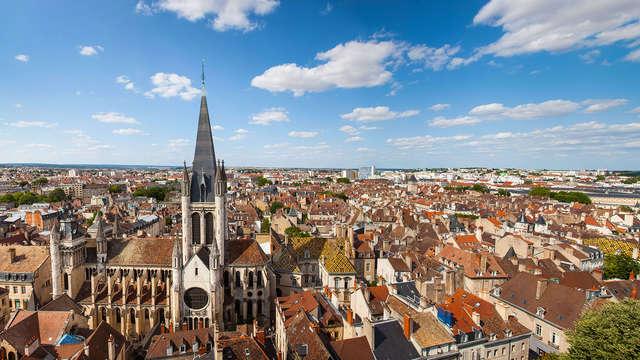 Evasión con encanto en el centro de Dijon