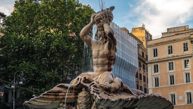 Visitez Rome en séjournant entre le palais Barberini et les Quatre Fontaines (à partir de 2 nuits)