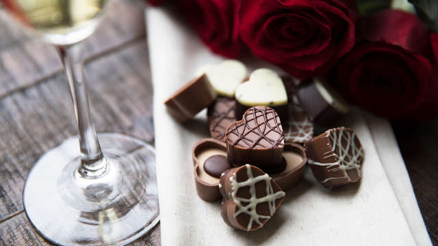 1 Doosje chocolade