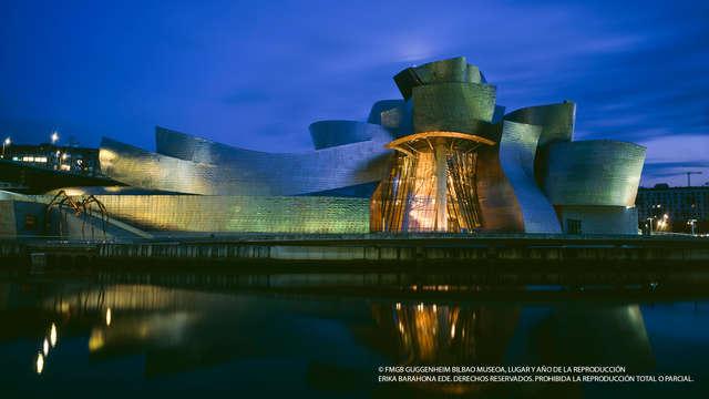 1 Entrada para el Museo Guggenheim para 2 adultos