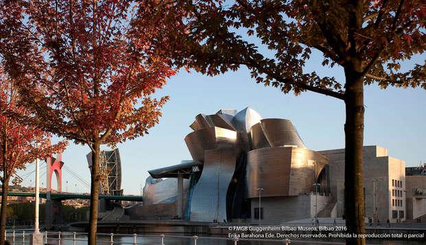 Escapada en Bilbao con entradas al Guggenheim (desde 2 noches)