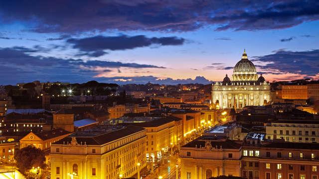 Nuitées magiques dans le centre de Rome à l'Hotel Mondial