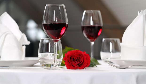 Nuit en amoureux avec dîner de la Saint-Valentin au cœur de la Normandie