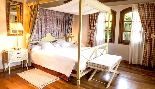Lujo en suite con spa y copa de bienvenida en los Pirineos