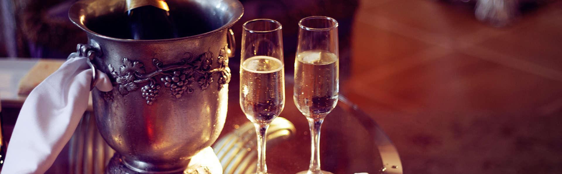 Champagne et Love can pour un condensé d'amour à Versailles
