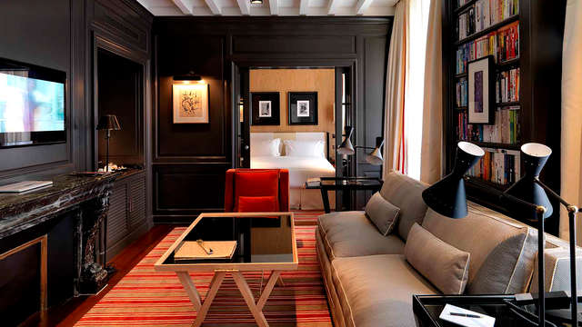 Escapada de lujo y romántica a un hotel 5 estrellas en el corazón de París