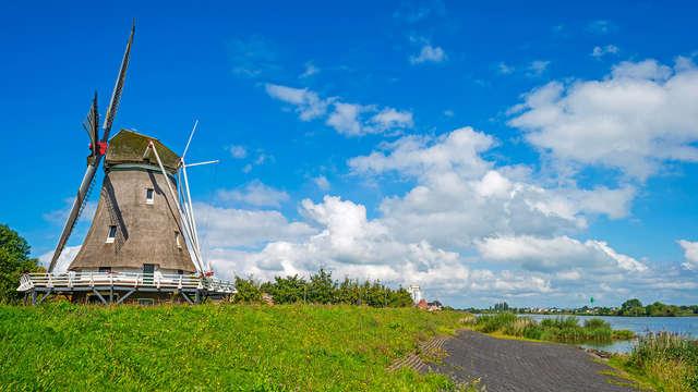 Week-end randonnée et à vélo en Hollande du Sud (à partir de 2 nuits)