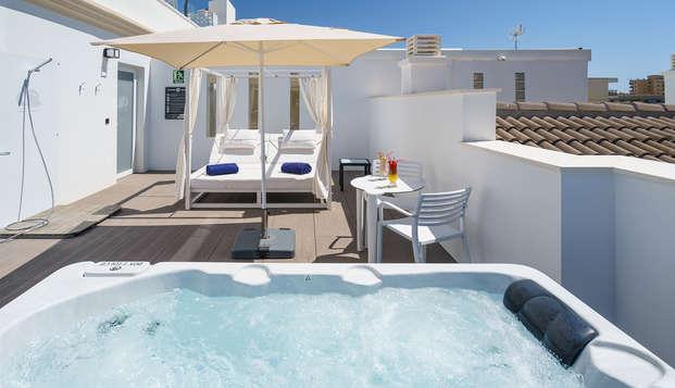 Relax&Gastronomía en un hotel boutique de lujo en Torremolinos, Costa del Sol