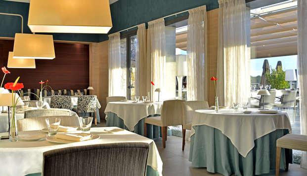 Cena y spa de lujo en Sitges