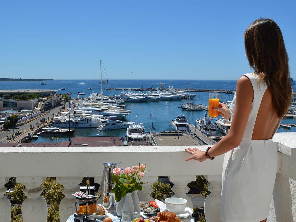 Séjour Cannes - Séjour en Cannes en appartement pour 5 avec vue imprenable sur la mer  - 4*