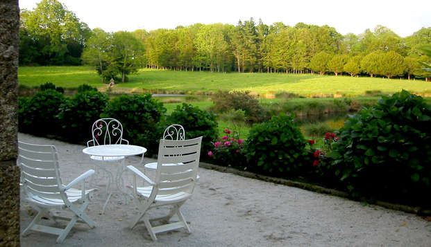 Escapade de charme dans un manoir près de Concarneau (2 nuits achetées, la troisième offerte!)