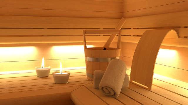 1 accès au sauna privé pour 2 adultes