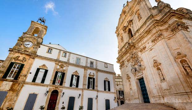 Vacanza nel cuore della Puglia: 3 notti in elegante masseria 5* nella Valle d'Itria