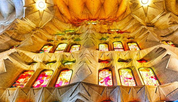 Découvrez Barcelone avec ce séjour comprenant la visite de la Sagrada Familia et le parking