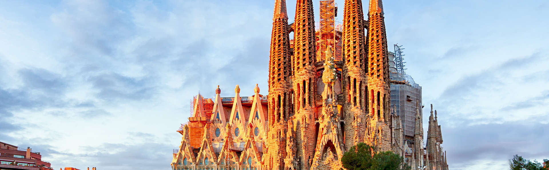 Citytrip à Barcelone avec billets pour la Sagrada Familia