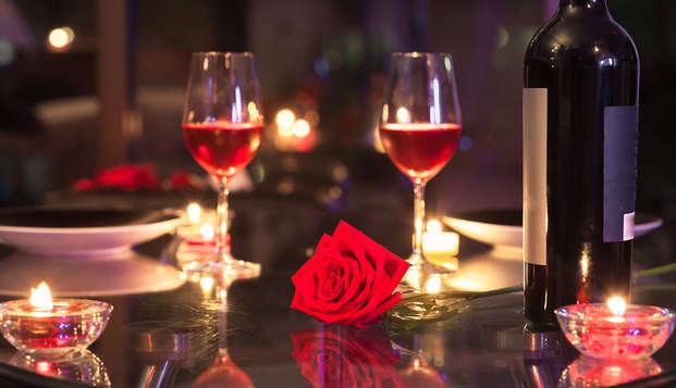 Séjour pour la Saint-Valentin avec dîner et dégustation d'huître à Auray (à partir de 2 nuits)