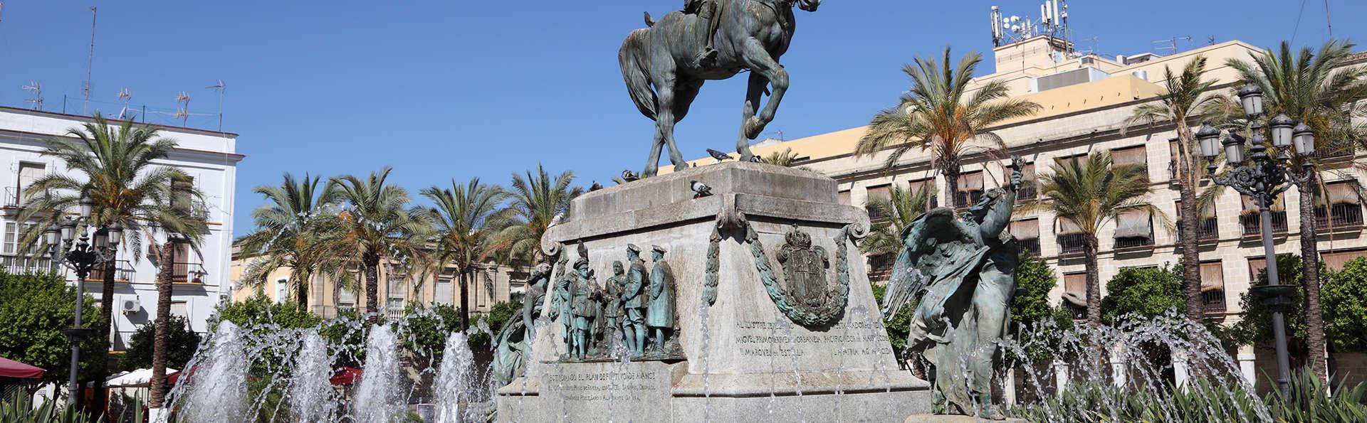 Découvrez Jerez de la Frontera dans un hôtel du centre-ville