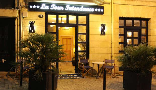 QUALYS-HOTEL Bordeaux La Tour Intendance - Front