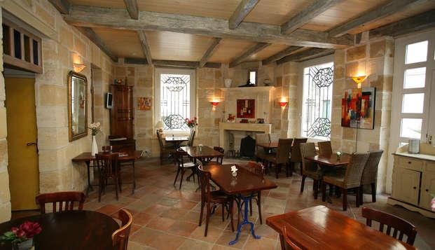 QUALYS-HOTEL Bordeaux La Tour Intendance - Restaurant