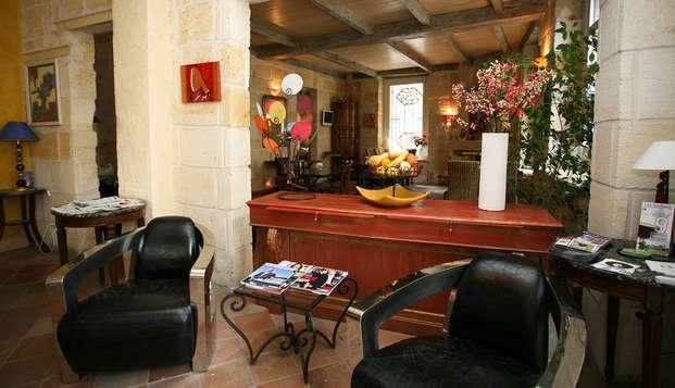 QUALYS-HOTEL Bordeaux La Tour Intendance - Lobby