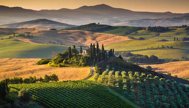 Soggiorno emozionante alla scoperta di un territorio immerso nella natura a due passi da Arezzo