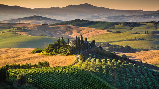 Emocionante estancia para descubrir una tierra rodeada de naturaleza cerca de Arezzo